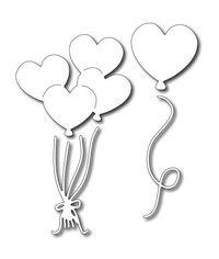 Heart Balloons (set of 4 dies)
