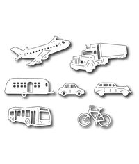 Transportation Icons (set of 7 dies)