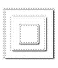 Stitched Squares - Die