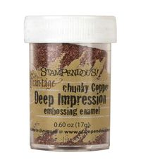 Chunky Copper - Deep Impression Embossing Enamel