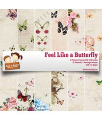 "Feel Like A Butterfly 12""X12"", 36/pkg"