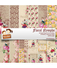 """Floral Nymphs  12""""X12"""", 36/pkg"""