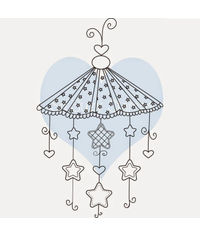 Pretty Baby Mobile - Stamp