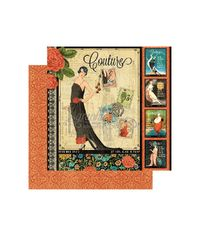 """Couture - Couture Double-Sided Cardstock 12""""X12"""""""