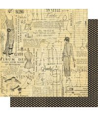 """Fashion - Couture Double-Sided Cardstock 12""""X12"""""""