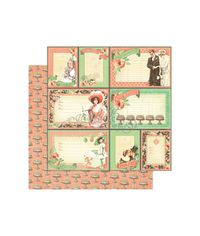 """You're Invited - Time To Celebrate Double-Sided Cardstock 12""""X12"""""""