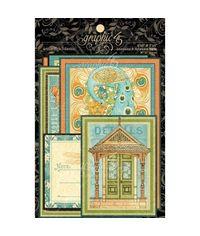 Artisan Style Ephemera Cards 4 X8