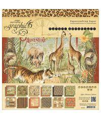 Safari Adventure, 12 Designs/2 Each