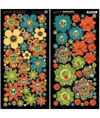 Flowers - Die-Cuts Sheet