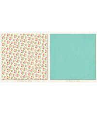 "Pinwheel - My Girl Collection - 25 Pcs of 12"" x 12"" Paper"
