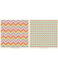 """Chevron - My Girl Collection - 25 Pcs of 12"""" x 12"""" Paper"""