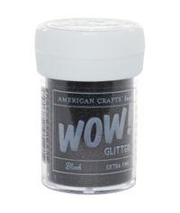 Black - Extra Fine Glitter 1oz