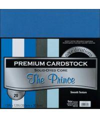 "The Prince Assortment Cardstock 12""X12"" 20/Pkg"