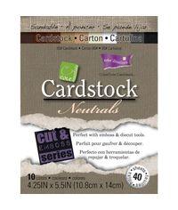 "Neutrals - Core'dinations Cardstock 4.25""X5.5"""