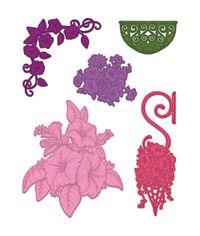 Classic Petunia Bouquet - Die