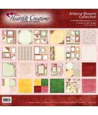 "Arianna Blooms 12""X12"" Paper Pad 24/Pkg"