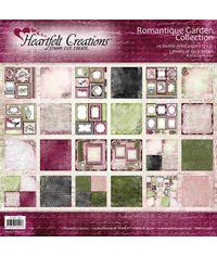 """Romantique Garden 12""""X12"""" Paper Pad 24/Pkg"""