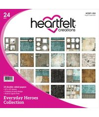 "Everyday Hereos 12""X12"" Paper Pad 24/Pkg"