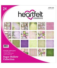 "Sugar Hollow 12""X12"" Paper Pad 24/Pkg"