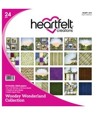 "Woodsy Wonderland 12""X12"" Paper Pad 24/Pkg"