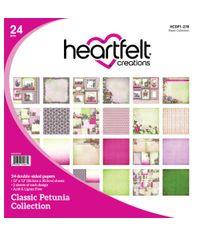 "Classic Petunia 12""X12"" Paper Pad 24/Pkg"