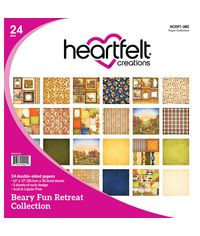 "Beary Fun Retreat - 12""X12"" Paper Pad 24/Pkg"