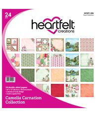 "Camelia Carnation - 12""X12"" Paper Pad 24/Pkg"