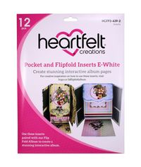 White - Pocket and Flipfold Inserts E