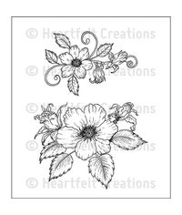 Botanical Rose Bouquet - Stamp
