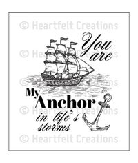 My Anchor - Stamp