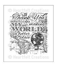 My World - Stamp