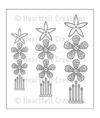 Cascading Fuchsia - Stamp