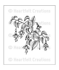Fuchsia Spray - Stamp