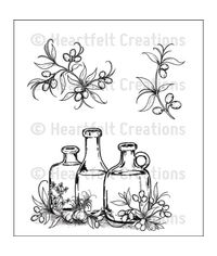 Jars and Accents Cling Stamp Set