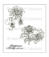 Single Enchanted Mum Cling Stamp Set