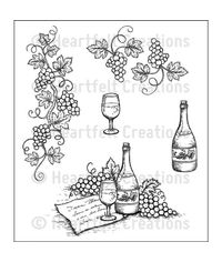 Italiana Grape Clusters - Stamp