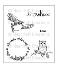 It's Owl Good - Stamp