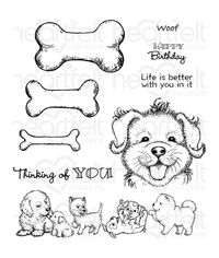 Paw-fect Pooches Stamp