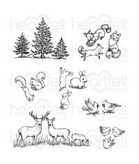 Woodsy Critters Stamp