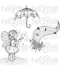 Singing in the Rain - Stamp