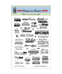 Heart To Heart Greetings - Stamp