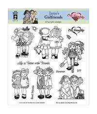 Janie's Girlfriends - Stamp