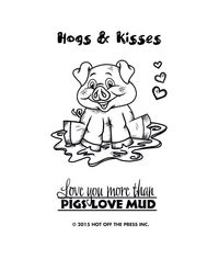 Small Hugs & Kisses - Stamp