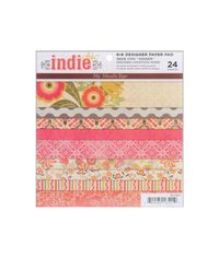 Indie Chic Ginger Paper Pad 6 X6