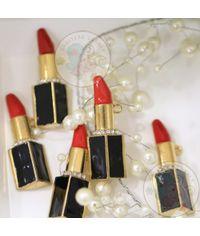 Lipstick with Rhinestones