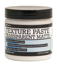 Transparent Matte - Texture Paste- 4oz