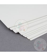 White Cardstock - 300 gsm