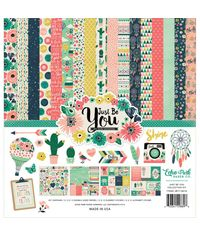 "Just Be You Cardstock  Collection Kit 12""X12"""
