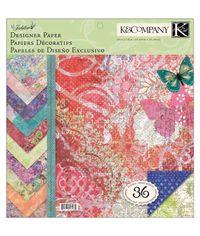 Jubilee Designer Paper Pad - 36 Sheets