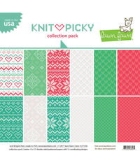 "Knit Picky Collection Pack - Paper Pack 12"" x 12"""